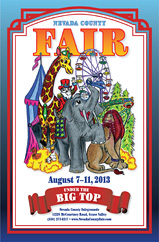 2013 Nevada County Fair Poster